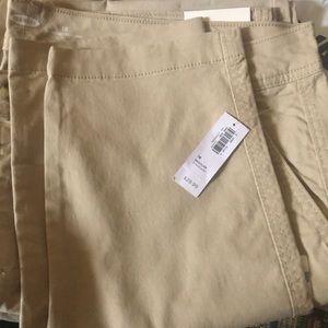 Khaki pants new